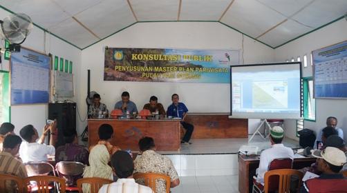 Konsultasi Publik, Penyusunan Master Plan Pariwisata Di Pulau Pasi Gusung