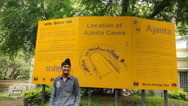 30 Rock cut caves of ajanta - world famous tourist place