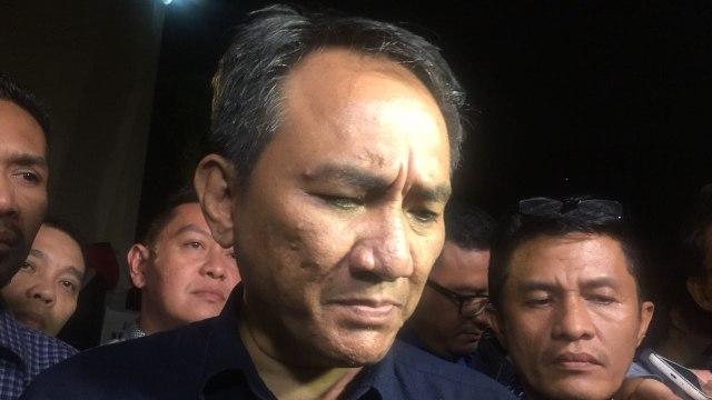 Andi Arief Tertidur saat KPU Cek Isu 7 Kontainer Surat Suara Tercoblos