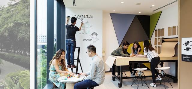 Ruang Kerja Karyawan Google