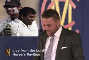 McCullum apologizes to Sangakkara and Murali