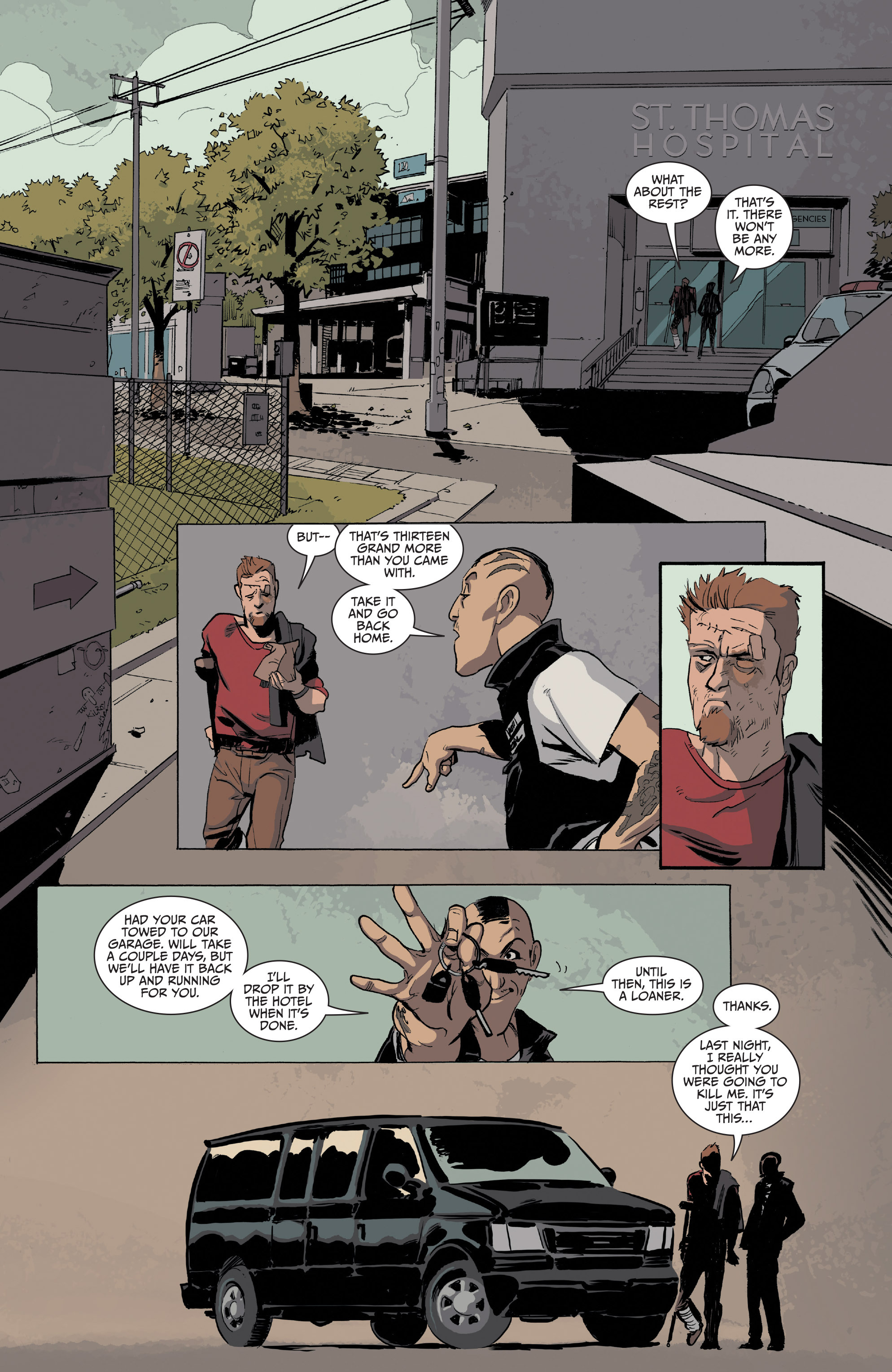 Read online Sons of Anarchy comic -  Issue #16 - 22