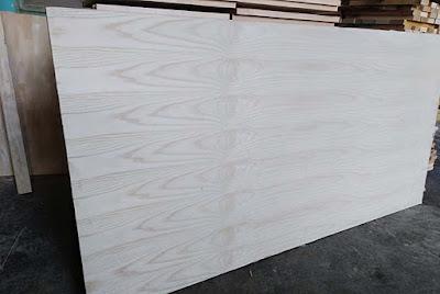 Ván gỗ phủ veneer vân gỗ Tần Bì AB