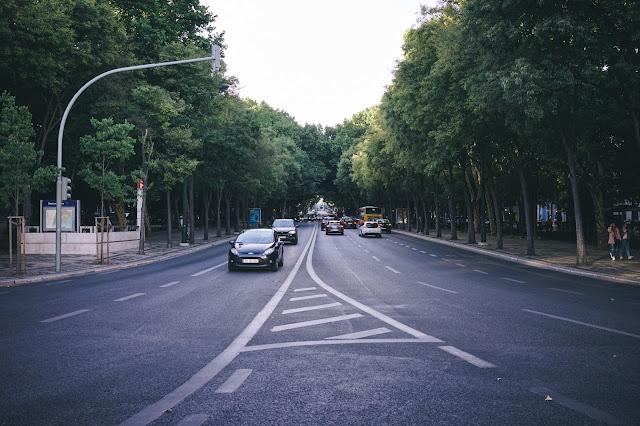 リベルダーデ大通(Avenida da Liberdade)