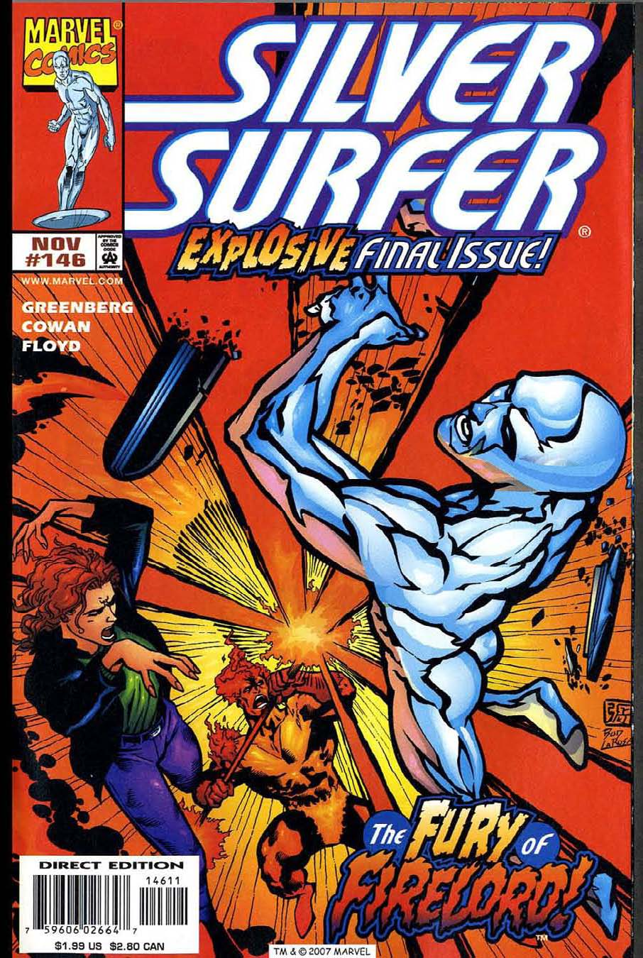 Read online Silver Surfer (1987) comic -  Issue #146 - 1