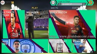 FIFA 14 Mod FIFA18 by Agus Baybbeat Apk + Data Obb