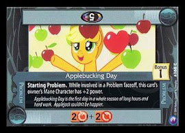 My Little Pony Applebucking Day Canterlot Nights CCG Card