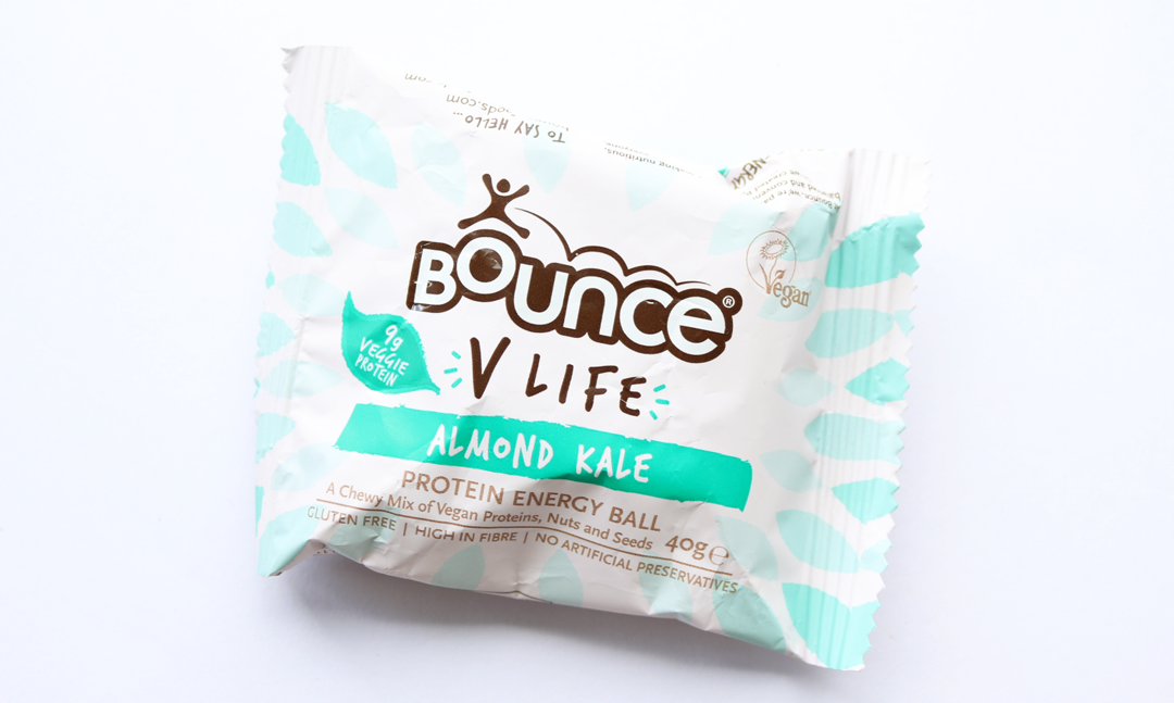 Bounce VLife High Protein Energy Ball in Almond Kale