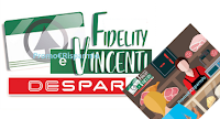 Logo Despar ''Fidelity e Vincenti'': vinci gratis o con scontrino o carta Fedeltà un mondo di premi!
