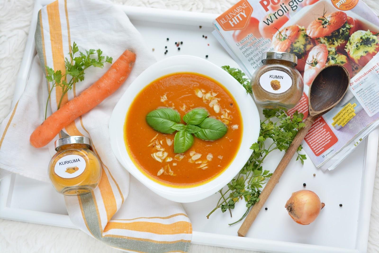 Wegańska zupa krem z dyni | proste gotowanie