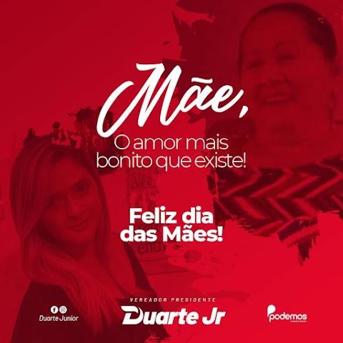 Presidente da Câmara Duarte Jurnio faz homenagem às mães