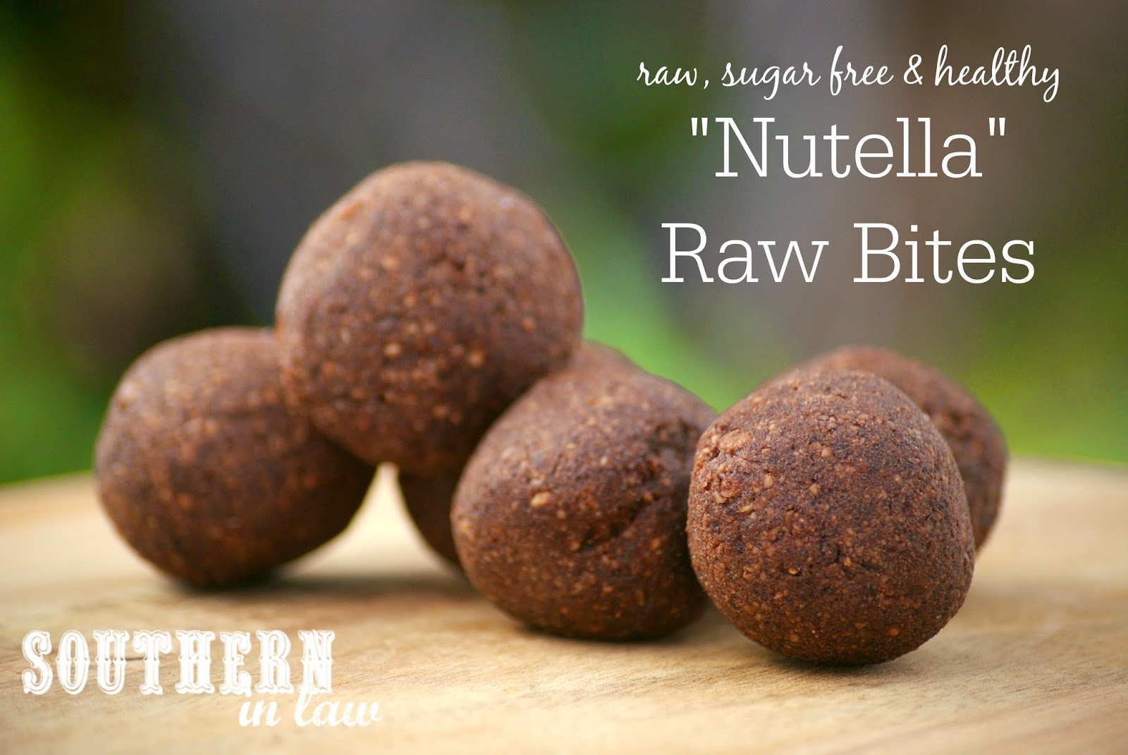 Nutella Raw Balls Recipe - Gluten Free, Sugar Free, Freezer Friendly, Clean Eating Friendly, Raw, Vegan