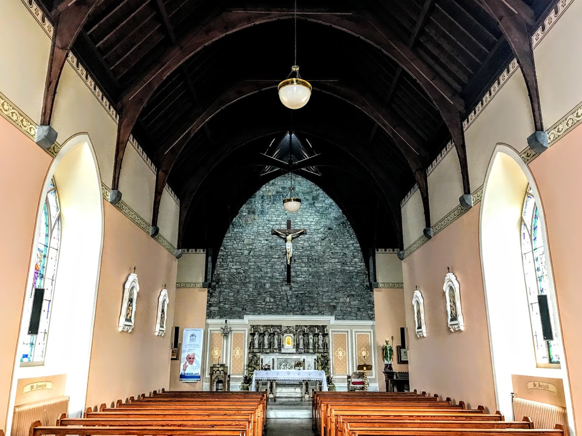 Inside Saint Patricks Church On Clare Street Limerick Photograph Patrick Comerford 2018