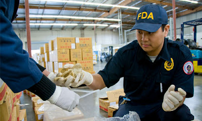 FDA caught illegal containers containing rat meat originating from China