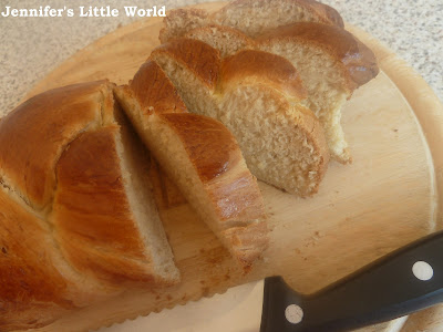 Homemade Zopf bread recipe