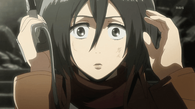 Tingkat kecantikan Mikasa naik dua kali lipat sejak rambutnya dipotong pendek