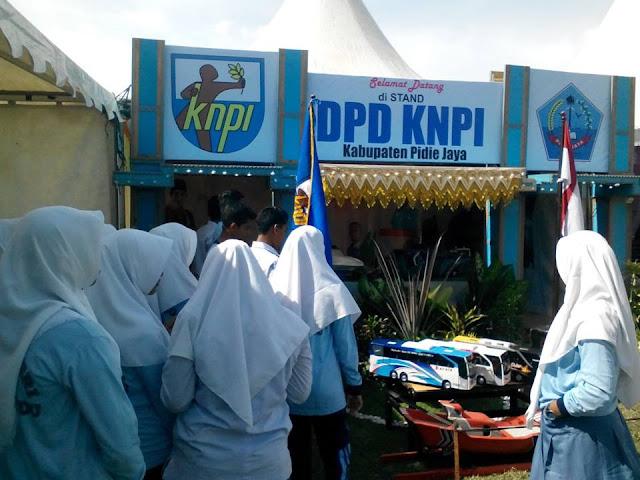 KNPI PIJAY Warnai Expo HARDIKDA Ke - 57