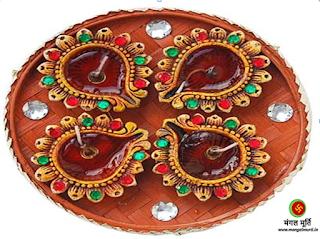 aarti thali, festivals, navratri 2016, diwali 2016, bahi dooj 2016
