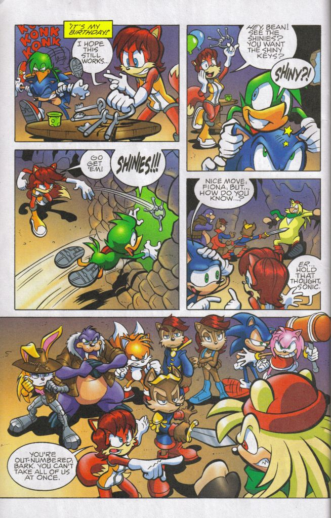 Read online Sonic The Hedgehog comic -  Issue #160 - 10