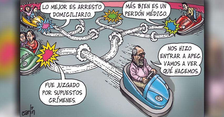 Carlincaturas Domingo 05 Noviembre 2017 - La República