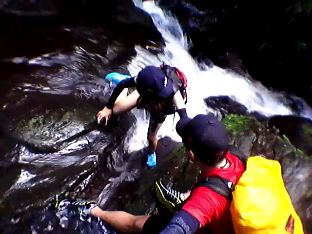 Free Climbing in the Waterfalls Terrain