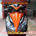 Sơn xe máy Airblade 125 màu cam đen zin cực đẹp
