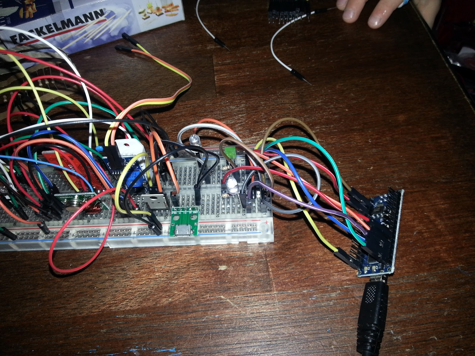 Arduino Programming Attiny85 Using Nano Wiring Upload The Isp Sketch To