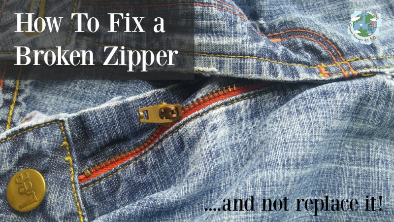 fix broken zipper
