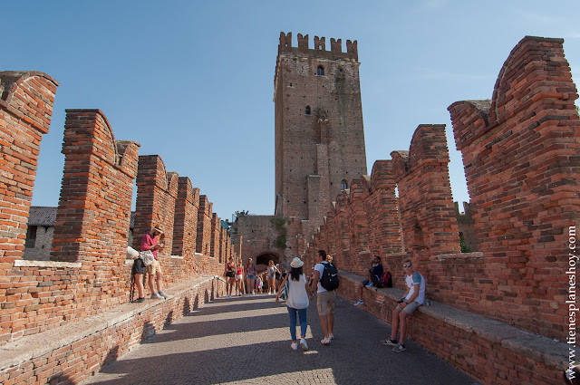 Visitar Castelvecchio viaje Italia