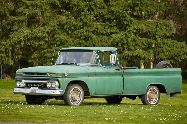 1963 GMC 1/2 Ton Pickup Truck