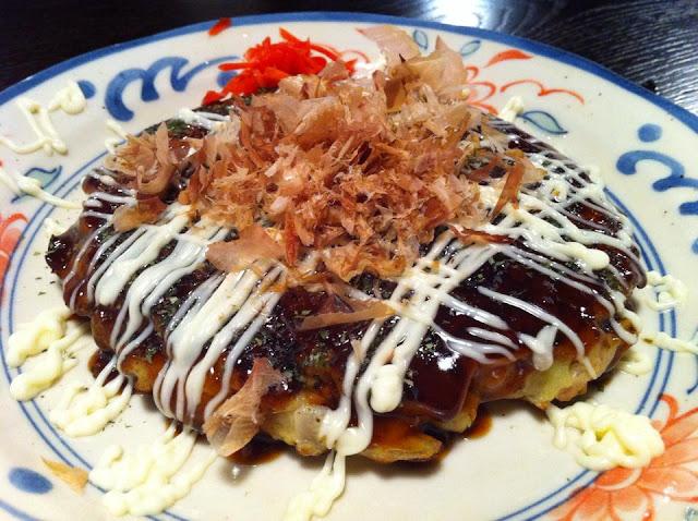 Okonomiyaki Assorted Japanese Pancake/Pizza. Tokyo Consult. TokyoConsult.