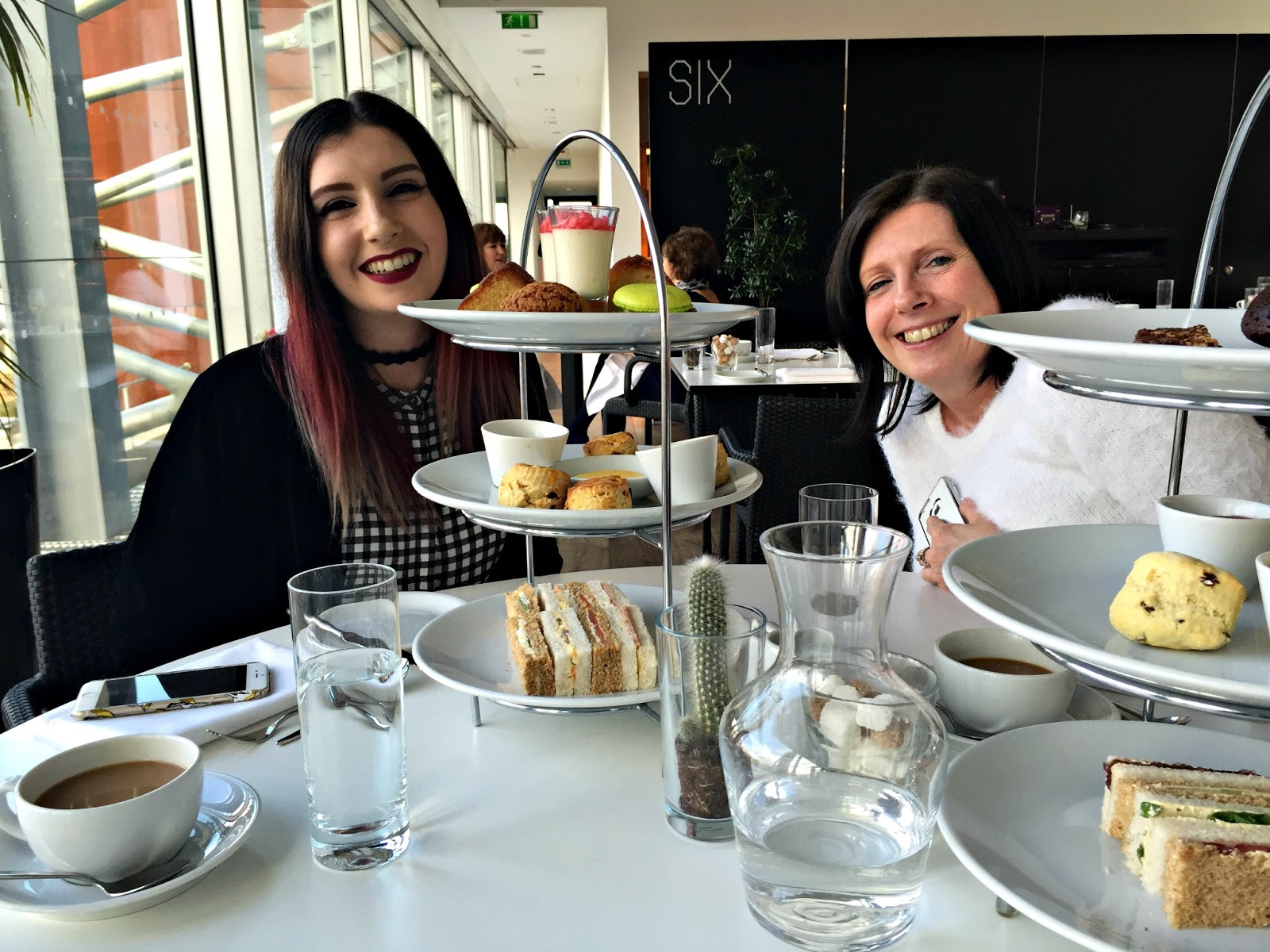 Vegan afternoon tea Newcastle SIX BALTIC