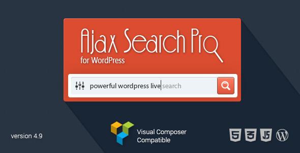 Ajax Live Search Pro