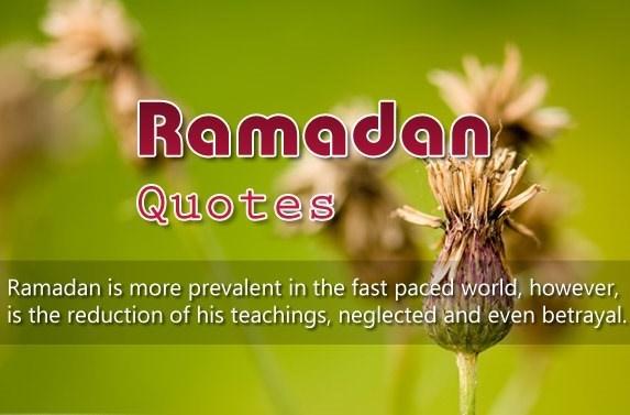 ramadan kareem quotes in image