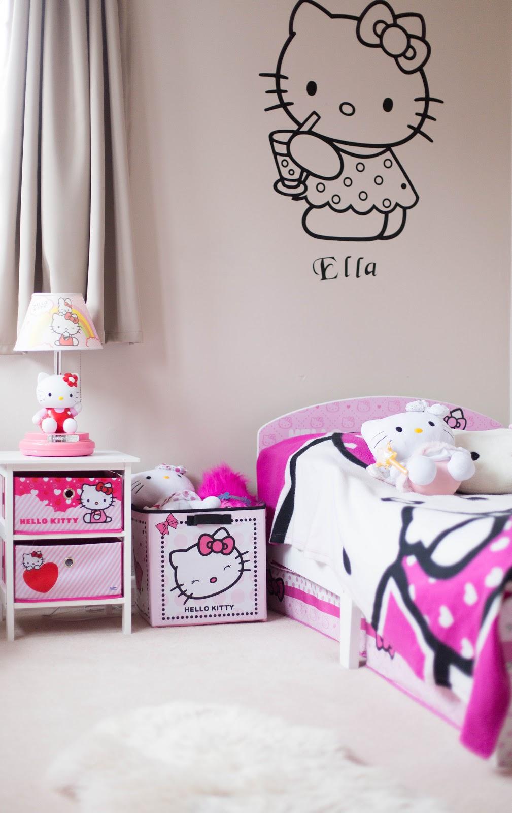 mini make over hello kitty bedroom finnterior designer