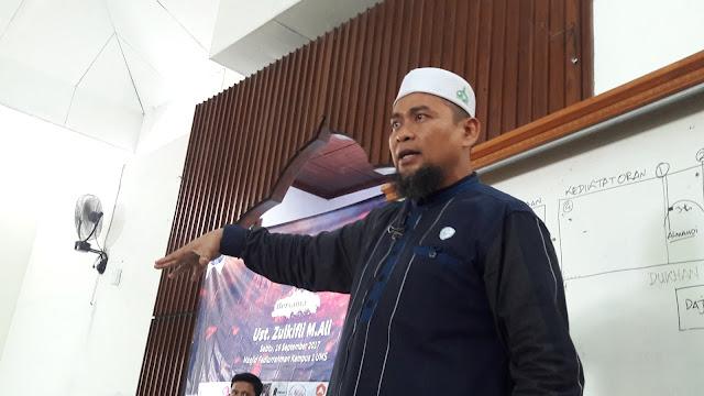 Polisi Resmi Tetapkan Ustadz Zulkifli Jadi Tersangka