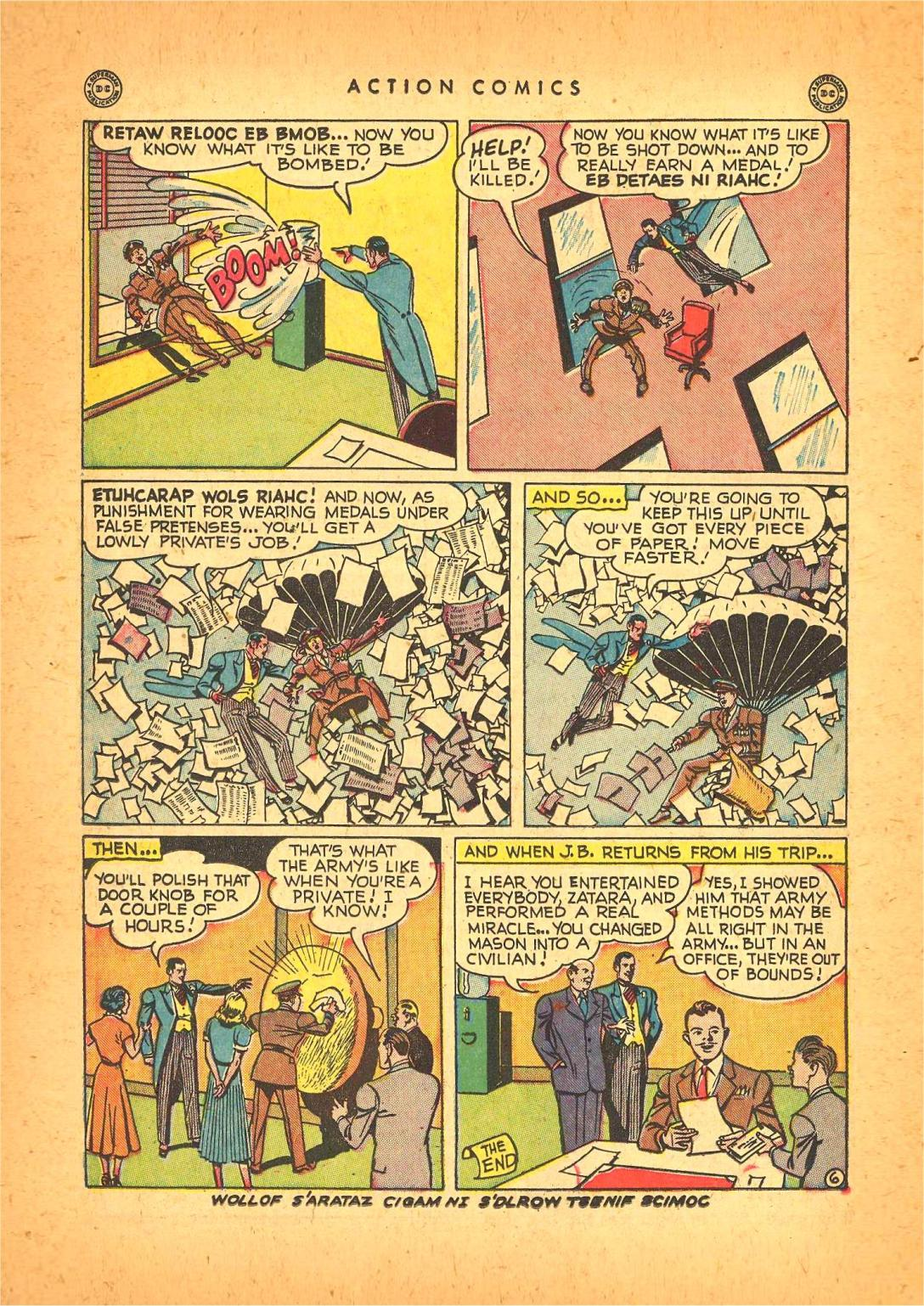 Action Comics (1938) 130 Page 36