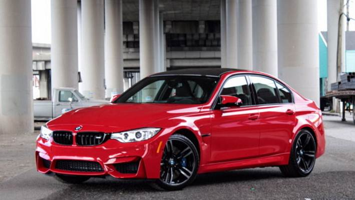 BMW M3 In Ferrari Red Individual Color