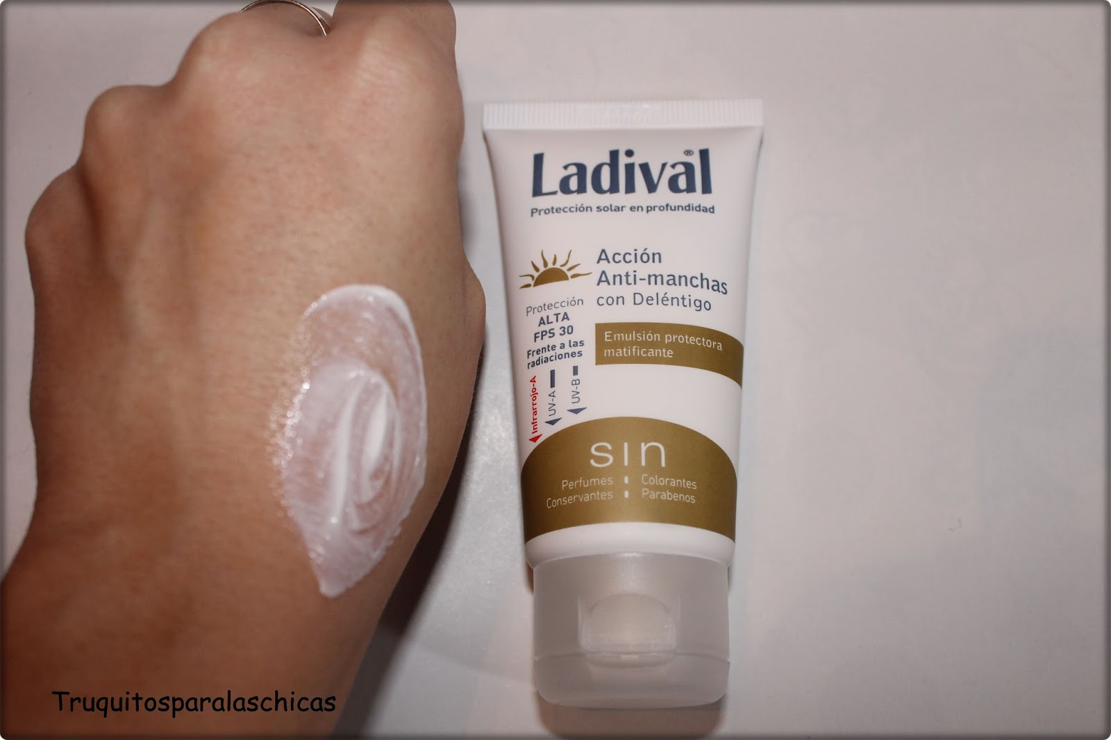 crema antimanchas ladival