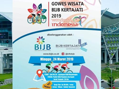 Gowes Wisata BIJB Kertajati 2019