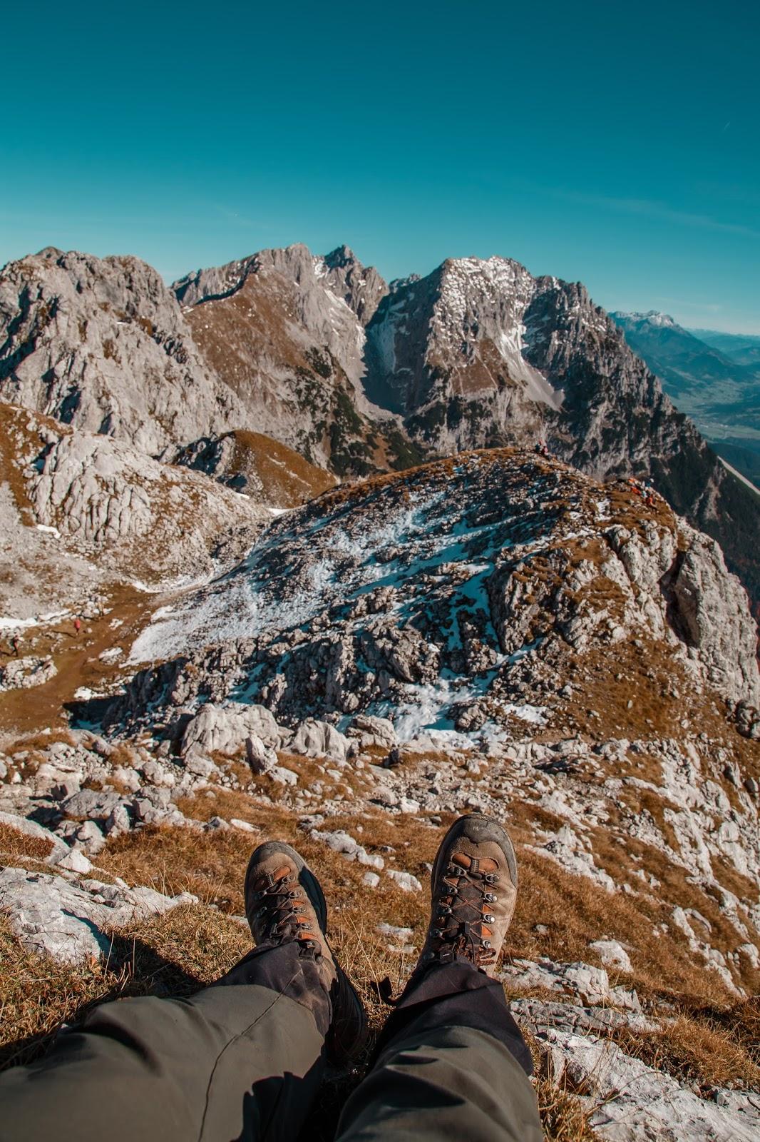 Bergtour Scheffauer  Wandern Wilder Kaiser  leichter Gipfel im Wilden Kaiser  Wandern-Tirol 10
