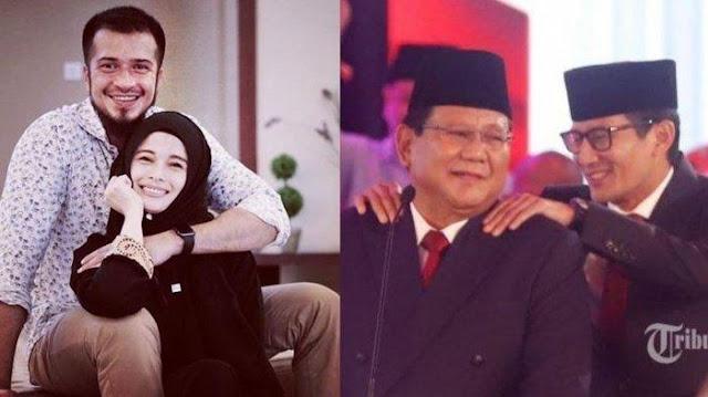 Dukung Prabowo-Sandi, Jihan Fahira: Baru Kali Ini Pengin Banget Nyumbang untuk Biaya Kampanye