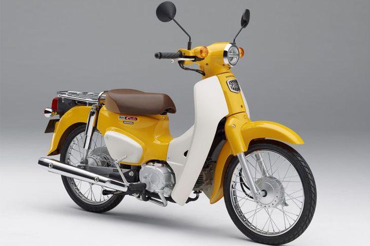 Honda Kembali Produksi Bebek Pitung Puluh