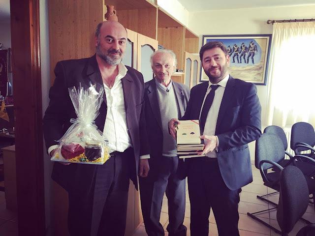 Την Εύξεινο Λέσχη Φλώρινας επισκέφθηκε ο Ευρωβουλευτής Νίκος Ανδρουλάκης