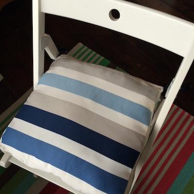 coussin/galette de chaise pour TERJE chaise pliante IKEA