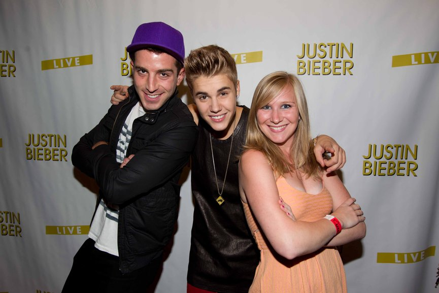 meet and greet justin bieber las vegas 2013