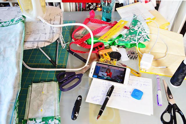 Perfekt sitzendes Etuikleid nähen mit Inge Szoltysik-Sparrer @frauvau.blogspot.de