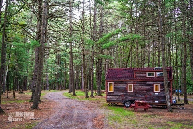 The photos from their journey around North America are equally as impressive as the tiny house itself. - This Couple Quit Their Jobs To Live Off-Grid… How They Did It Will Inspire You.