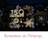 illumination du printemps