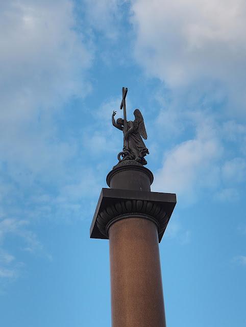 Санкт-Петербург - Александровская колонна (St. Petersburg - The Alexander Column)